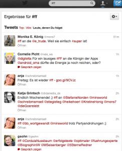 Twitter Timeline #ff