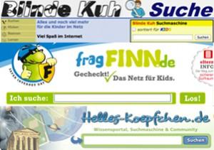 Kindersuchmaschinen Logos