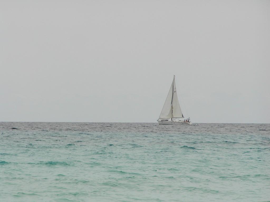 Segelboot vor Mallorca